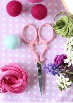 A Sort Of Fairytale/Photo of via Sarah Jane Studios-Cute scissors!