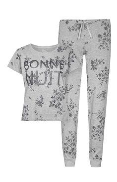 Bébé fille été en coton Léopard Kitty et chiot tenues legging 2Pc Pant Set UK