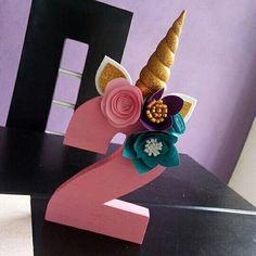Unicorn Themed Birthday, Unicorn Birthday Parties, Birthday Party Decorations, Girl Birthday, Party Themes, Diy And Crafts, Crafts For Kids, Unicorn Room Decor, First Birthdays