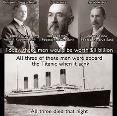 Did J.P. Morgan Build the Titanic to Kill Off the Competition and Form the Federal Reserve? The Coincidences Are Amazing | RiseEarth