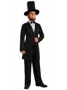 Mens Abraham Lincoln Costume