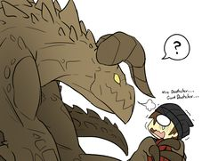 Friendly Deathclaw? by RakkuGuy on DeviantArt