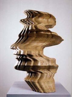 tony cragg oak sculpture