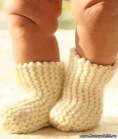 вязаные носочки для детей