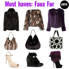 Must haves: Faux Fur