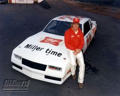 83 DiGard Racing Team Miller Chevy with Bobby Allison