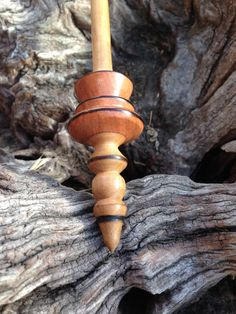 Reserved for Andrea - Russian Style Supported Spindle - Red Ironbark and Sugar Gum