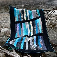 Jellyroll Quilts, Outdoor Blanket, Scrappy Quilts