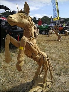 Latest news about our driftwood sculptures and driftwood furniture and related issues from our driftwood horse website, a sideline of Fresh Group Products. Animal Sculptures, Lion Sculpture, Driftwood Furniture, Driftwood Sculpture, Tree Roots, New Forest, Outdoor Settings, Range, Horses
