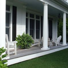 Cape Cod renovation - traditional - porch - boston - Michelle Jacoby, Changing Spaces