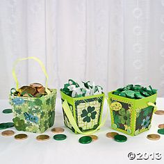 St. Patrick's Day Buckets