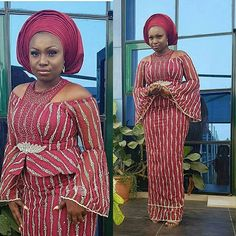 Hello Ladies Here are lovely Ankara and Aso Ebi Styles : Beautiful Collection For You that you surely like to rock them to you upcoming ownmbe party. African Dresses For Women, African Print Dresses, African Print Fashion, African Attire, African Fashion Dresses, African Wear, African Women, African Prints, Ankara Fashion