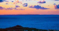 Pantelleria - tramonto e....si vede l' Africa!
