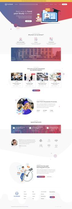 Ivy School | Education & School PSD Template by ThimPress | ThemeForest #webdesigneducation
