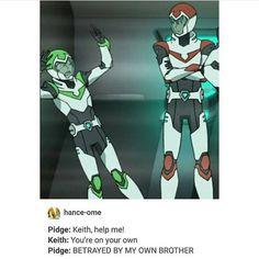 """""""Brother why? - - - - - - - #klance #voltron #voltronlegendarydefender #keith #keithkogane #lance…"""""""