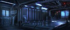 Space Ship Interior by waqasmallick.deviantart.com on @DeviantArt