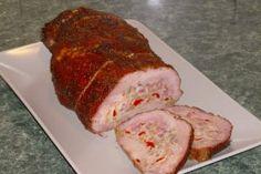 Reteta Rulada din pulpa de porc Romanian Food, Meatloaf, Carne, Cookie Recipes, Rolls, Food And Drink, Ice Cream, Favorite Recipes, Traditional