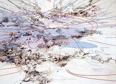 julie mehretu paintings - Google Search