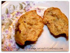 Banana Oat Ricotta Muffins