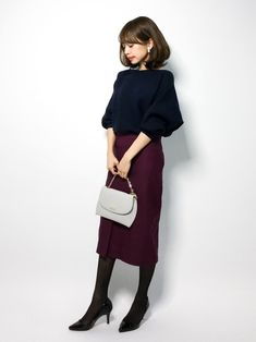 le.coeur blancのニット・セーター「横リブドルマンスリーブニット」を使ったeriko(ZOZOTOWN)のコーディネートです。WEARはモデル・俳優・ショップスタッフなどの着こなしをチェックできるファッションコーディネートサイトです。