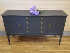 When it has to do with deciding on a sideboard all of it is based on the style and design which suits your home the very best. A sideboard may give yo. G Plan Sideboard, Black Sideboard, Painted Sideboard, Small Sideboard, Vintage Sideboard, Sideboard Furniture, Retro Furniture, Upcycling Ideas, Ash Grey