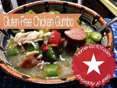 Gluten-Free Chicken Gumbo