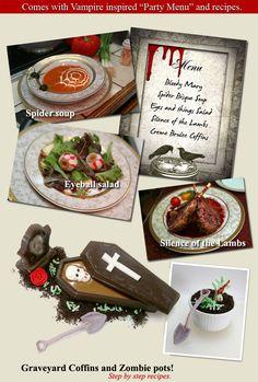 Vampire Dinner Recipes : vampire, dinner, recipes, Vampire, Murder, Mystery, Dinner, Party!
