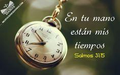 el reloj que mide los tiempos de Dios