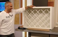 How To Make A Wine Rack Cabinet