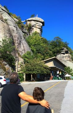 The quiet mountain town of Lake Lure, NC, is a wonderful destination for a weekend getaway. Chimney Rock North Carolina, Lake Lure North Carolina, Chimney Rock State Park, Monument Colorado, Dirty Dancing, Family Activities, Weekend Getaways, East Coast, Day Trips