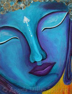 Buddha print, Buddha art, Buddha wall art, Buddha home decor, Blue Budha Buddha Wall Art, Buddha Painting, Buddha Zen, Gautama Buddha, Buddha Buddhism, Buddha Artwork, Deco Zen, Art Chinois, Indian Art