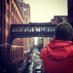 Olhando olhares em NY