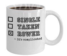 Rowing mug,gift for rower or coxswain, 11oz ceramic mug, funny gaphic crew mug, student rower, mug for crew coach, rowing parent. by Gr8Oars on Etsy