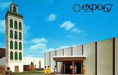 The Morocco Pavilion (Expo Expo 67 Montreal, Montreal Ville, Lounge, Big Show, World's Fair, Photos, Pictures, Swinging London, Amusement Parks