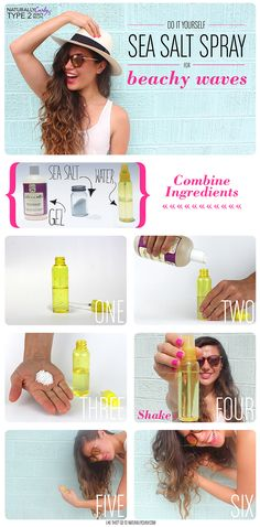 DIY Sea Salt Spray Recipe for Beachy Waves