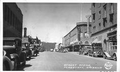 Street Scene, Flagstaff Arizona Date: 1934