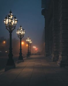 Vienna, Austria Photo by Tag your friends. Night Aesthetic, City Aesthetic, Paradis Sombre, Beautiful World, Beautiful Places, Misty Dawn, Photos Voyages, Street Lamp, Vienna Austria