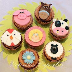 Farmyard Cupcakes by Victorious Cupcakes, via Flickr