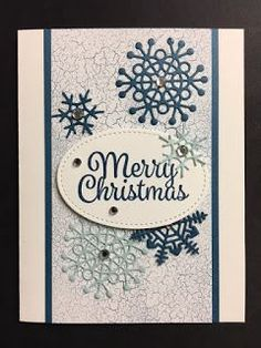 My Creative Corner!: Colorful Season, Seasonal Layers, Snowflakes Sentiments, Christmas Card