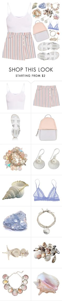"""mermaid inspired ♡ 2"" by seacloud ❤ liked on Polyvore featuring BasicGrey, Barneys New York, Calvin Klein, Tarina Tarantino, Eberjey, Paolo Costagli and Crate and Barrel"