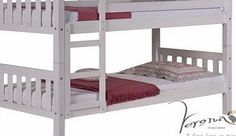 Verona Designs Barcelona Whitewash Bunk Bed The fantastic Barcelona bunk bed from Verona - now available in white. With its traditional clean lines its ideal for two children sharing a room together. The solid pine construction and sturdy de http://www.comparestoreprices.co.uk/bunk-beds/verona-designs-barcelona-whitewash-bunk-bed.asp