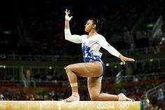 Team GB's Ellie Downie at Rio 2016