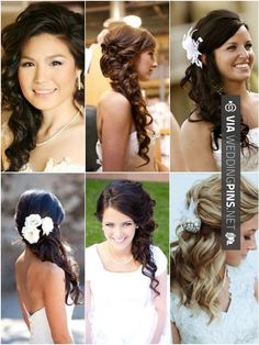 Cool! - Side Swept Wedding Hair Hot on Pinterest: Side Do Wedding Hairstyles - MODwedding | CHECK OUT MORE TO DIE FOR SHOTS OF TASTY Side Swept Wedding Hair HERE AT WEDDINGPINS.NET | #sidesweptweddinghair #sideswepthair #weddinghairstyles #weddinghair #hair #stylesforlonghair #hairstyles #hair #boda #weddings #weddinginvitations #vows #tradition #nontraditional #events #forweddings #iloveweddings #romance #beauty #planners #fashion #weddingphotos #weddingpictures