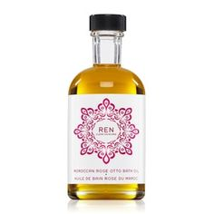 Discover Moroccan Rose Otto Bath Oil by Ren at MECCA. A luxurious bath oil formulated with one of the world's most precious essential oils: Moroccan Rose Otto. Your skin will be left nourished and lightly rose scented. Ren Clean Skincare, Asian Skincare, Natural Sleep Remedies, Insomnia Remedies, Rose Bath, Geranium Oil, Body Cleanser, Scented Oils, Best Perfume