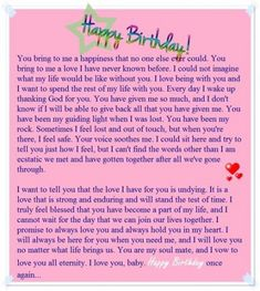 happy birthday mom Birthday paragraph for her - Sample birthday letters for girlfriend - Love You Messages Birthday Letter For Girlfriend, Birthday Letters To Boyfriend, Happy Birthday Boyfriend Message, Letter To My Boyfriend, Birthday Greetings For Boyfriend, Happy Birthday Wishes For Him, Message For Girlfriend, Happy Birthday Text, Birthday Wishes For Boyfriend