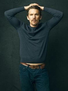 Ethan Hawke - J. Celebrity Crush, Celebrity Style, Ethan Hawke, First Crush, Gray Matters, Child Face, My Man, Sexy Men, Sexy Guys