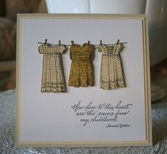 Marybeth's time for paper—Serendipity Stamps: Three Dresses