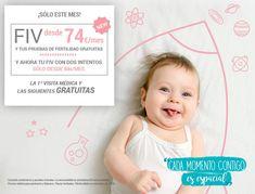 Tu tratamiento de Fecundación in Vitro desde 74 euros al mes durante el mes de noviembre Face, November, The Face, Faces