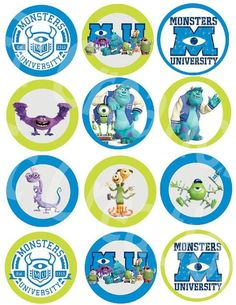 Monsters university activity sheets free printables filmwisefo
