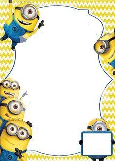 Minion Birthday Party Invitations Templates